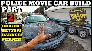 Police Movie Car Build Part 2! Ford Crown Victoria Interceptor