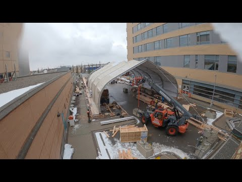 Albertans Helping Albertans: Constructing Peter Lougheed Hospital's Temporary COVID-19 Structure