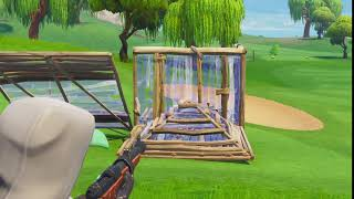 Fortnite Grappling Hook + Hunting Rifle = No Scope to default skin
