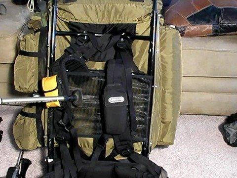 large frame backpacks kelty super tioga part 1 youtube