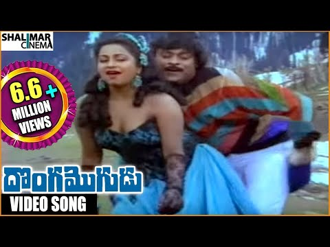 Donga Mogudu Telugu Movie || Nallanchu Tella Cheera Video Song || Chiranjeevi, Madhavi, Radhika