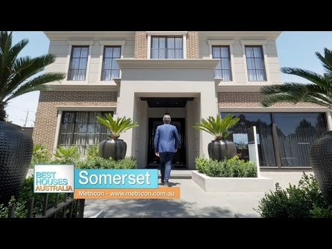 Metricon's Somerset 59 display home on Best Houses Australia