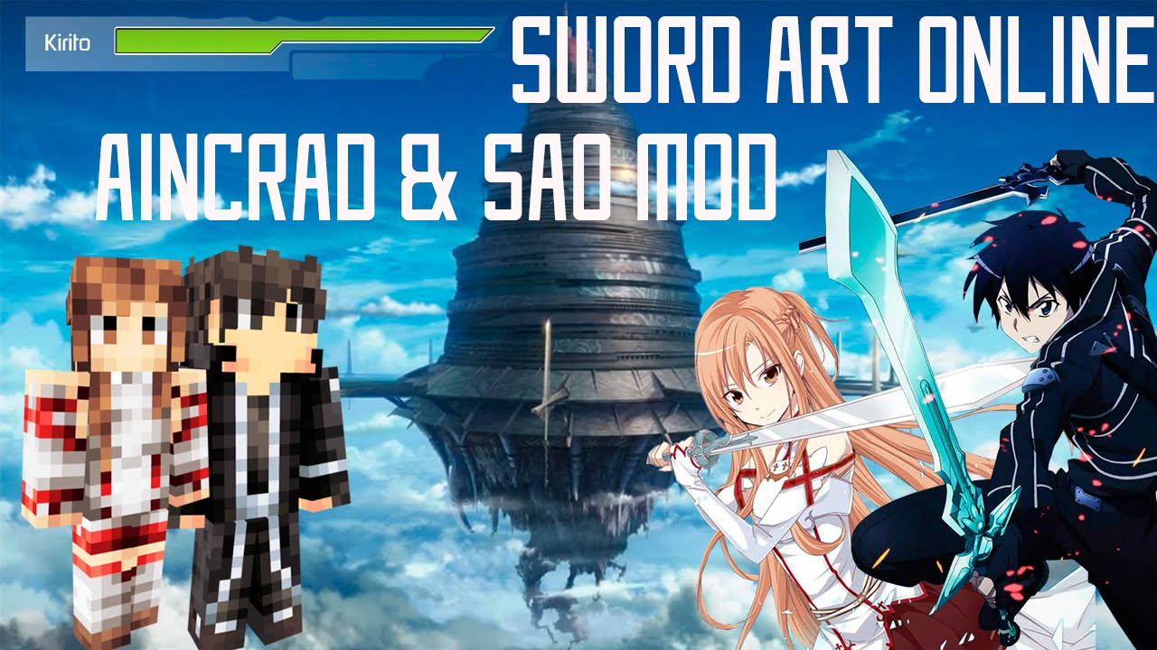 Minecraft Sword Art Online MOD Amp Aincrad MAP Doovi