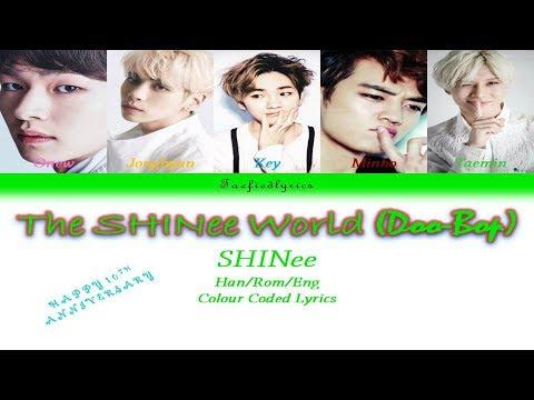 SHINee(샤이니) - SHINee World(Doo-Bop) Colour Coded Lyrics (Han/Rom/Eng) By Taefiedlyrics
