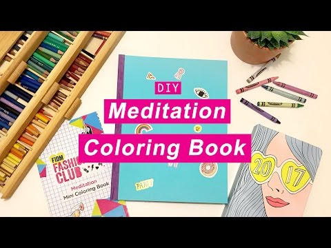 WHATDAYMADE DIY: Meditation Coloring Book + Free Downloads