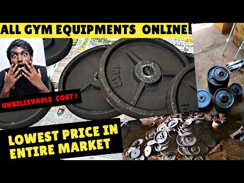 Gym Equipments High Quality | Very Cheap Cost | Online Gym Equipments Store | LLB'S Initiative