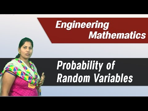Random variables and probability distributions : Best Engineering Mathematics Tips & Tricks