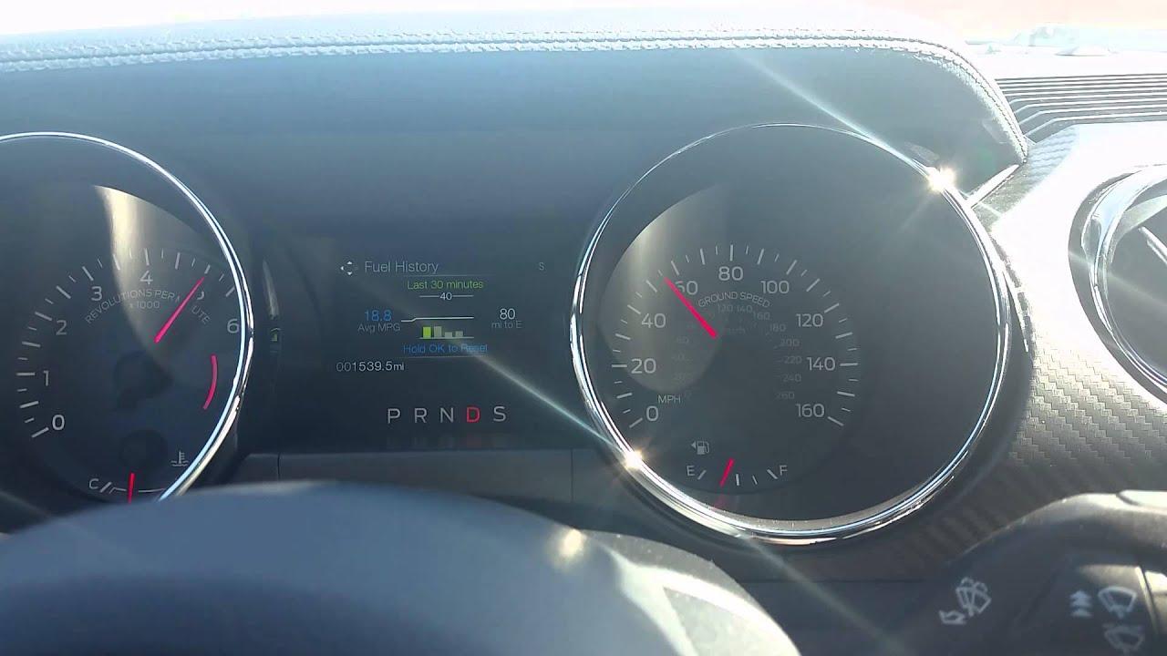2015 FORD MUSTANG 0 60 V6 STANDARD MODE
