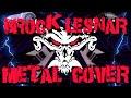 Brock Lesnar Theme Metal Cover - WWE UFC  - Retro Shred