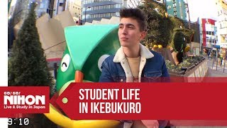 Student life in Japan: a day in IKEBUKURO