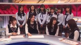 一部メン+松井珠理奈・高柳明音・須田亜香里・大場美奈.
