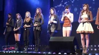 [Fancam] SNSD - Dear Mom @ Coway Concert