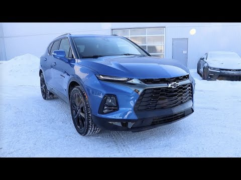 2019 Chevrolet Blazer RS AWD Kinetic Blue Review ...