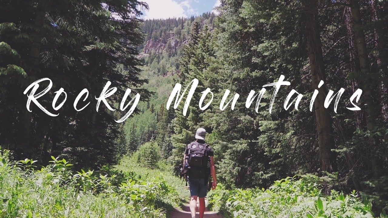 Work and Travel USA - Rocky Mountains in 4K