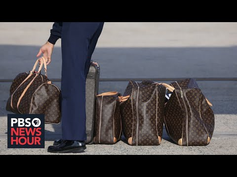 WATCH LIVE: Trump Visits New Louis Vuitton Factory In Texas