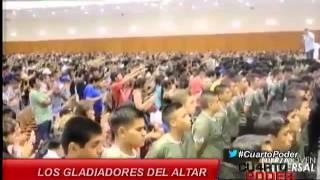 Gladiadores Del Altar: Inquietante Proyecto de Pare de Sufrir se expande por BRA, COL, ARG y Perú