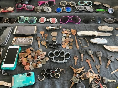 Thumbnail: River Finds! - Rings, Coins, Knives and Sunglasses!
