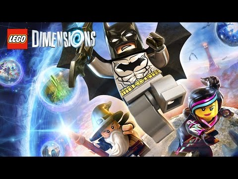 LEGO Dimensions All Cutscenes (Game Movie) Full Story 1080p HD