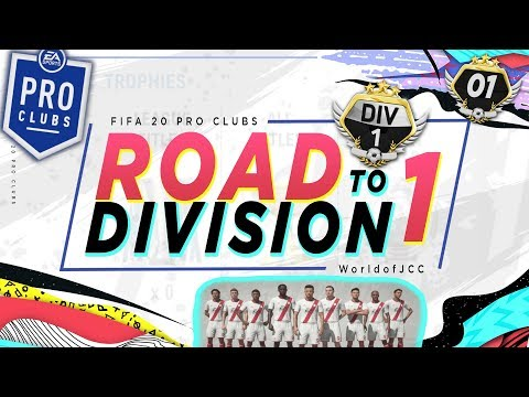 FIFA 20 Pro Clubs Series | ROAD TO DIVISION ONE | The Beginning | #1