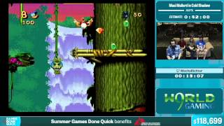 Maui Mallard in Cold Shadow by MechaRichter in 34:51 - Summer Games Done Quick 2015 - Part 22