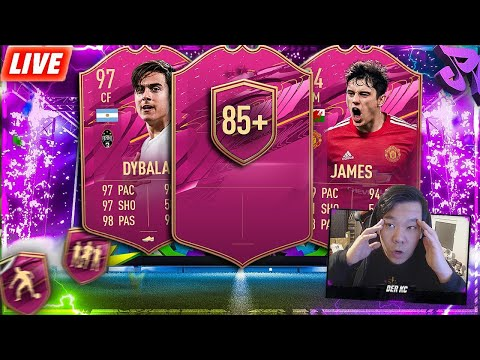 10x85+ MEGA OP!? 🤔 WL UND MAL SCHAUEN 😅 FIFA 21 RTG SUPER LATENIGHT STREAM