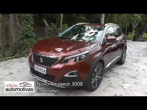 Novo Peugeot 3008 - Detalhes - NoticiasAutomotivas.com.br