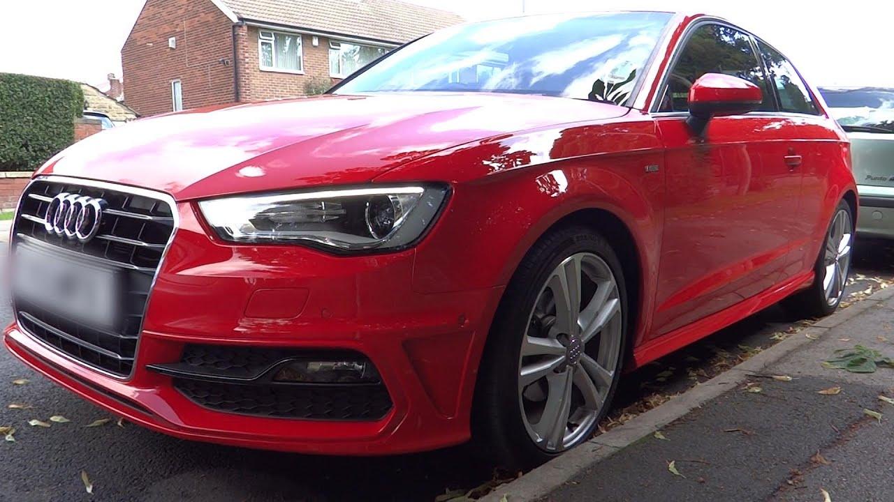 Audi A3 S Line Park Assist Plus Demonstration 2013 3 Door