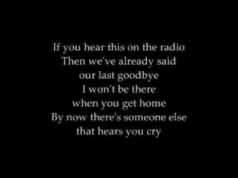 David Cook - The Last Goodbye (lyrics)