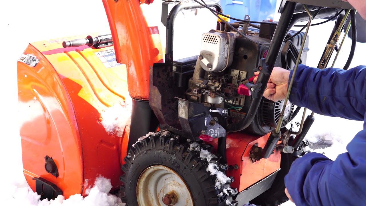Snowblower idle surging simple fix