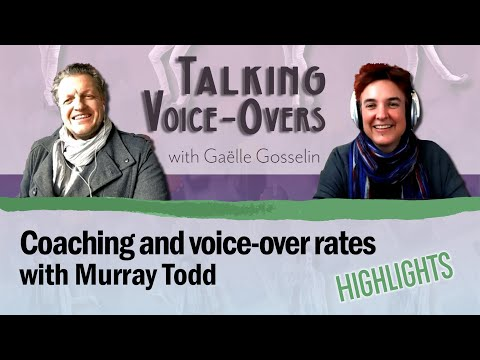 Video Murray Todd - Highlights -  Coaching and Voice-over rates