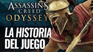 Assassin's Creed Odyssey   La HISTORIA que veremos en el juego   GUERRAS DEL PELOPONESO   Época