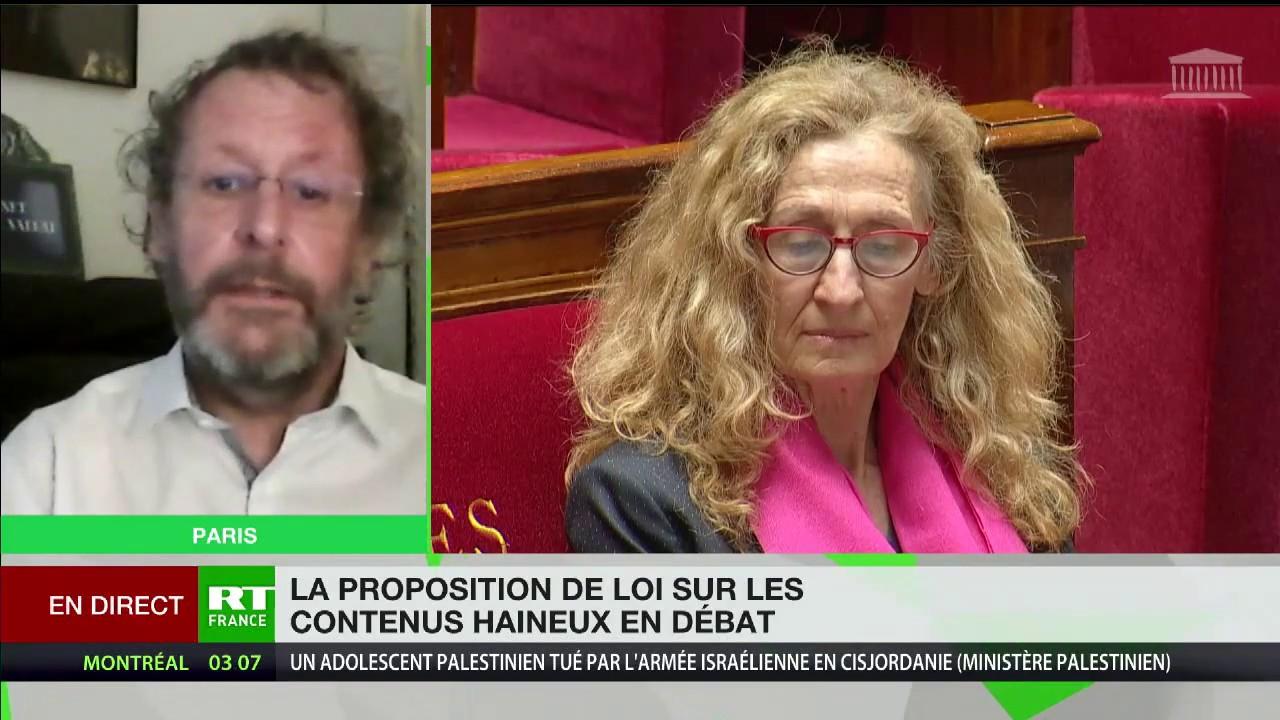 La loi Avia, «une loi potentiellement liberticide», selon Thierry Vallat
