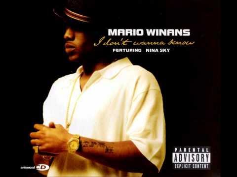 Mario Winans Ft Nina Sky - I don't wanna know Mash up Remix