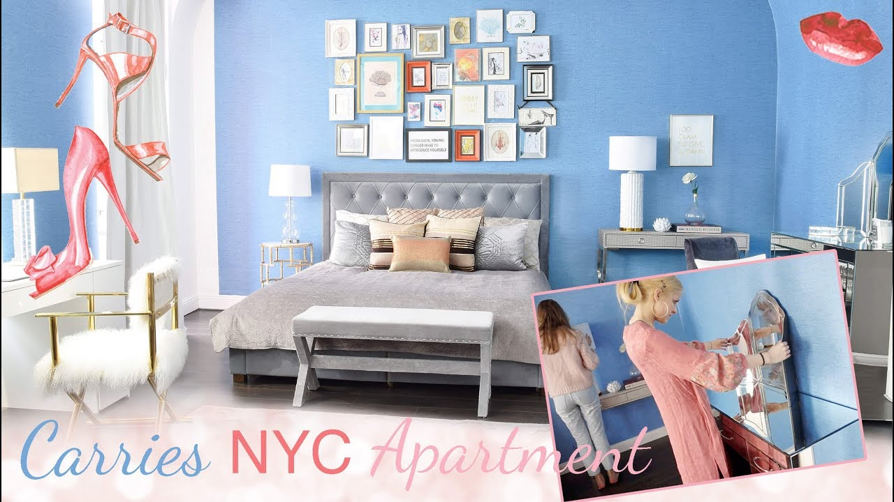 Carrie Bradshaw Get the Look! Appartment NYC Bedroom Roomtour SATC ...
