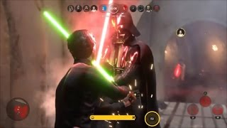 Star Wars Battlefront Heroes Vs Villains 441 Luke Skywalker Gameplay 4V4