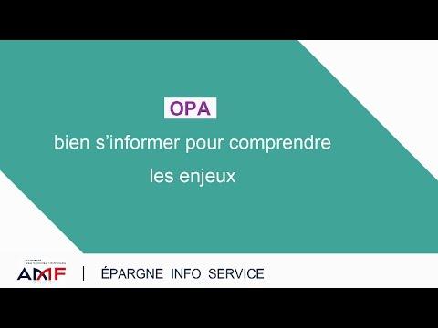 OPA : bien s'informer pour comprendre les enjeux