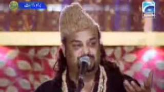 YouTube   Mera Koi Naheen Hai Teray Siwa by Amjad Sabri