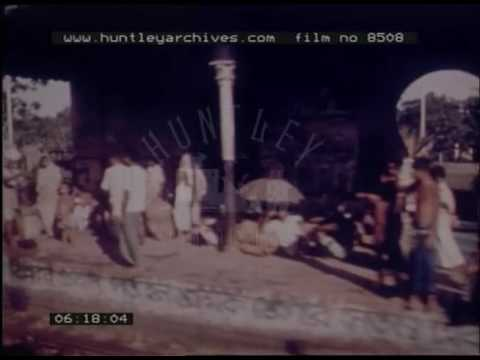 Rail Travel In India, 1970s - Film 8508
