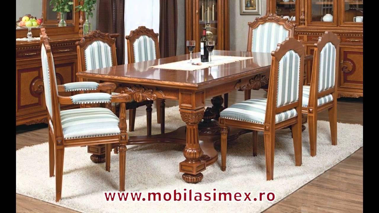 Casa Mobila Din Lemn.Mese Extensibile Din Lemn Masiv Www Mobilasimex Ro