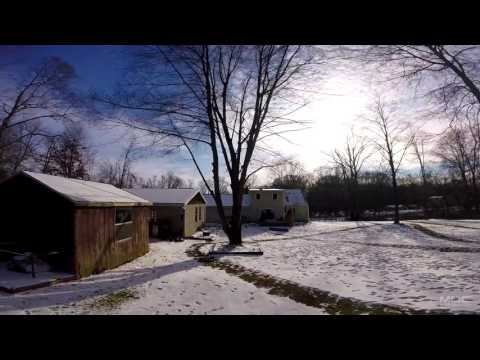 Snow Drone Racing // First Practice Session // 2017 Race Season