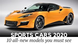 Top 10 New Sports Cars Worth Waiting for in 2020 (Prices and Speeds)