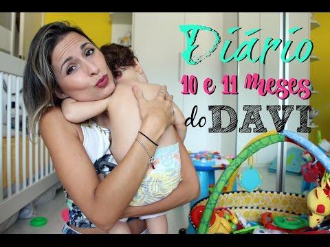 Diário do BabyMinelli DaVi ♥ 10 e 11 meses