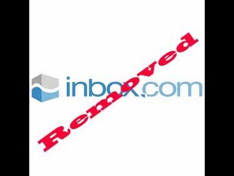 Inbox.com toolbar removal instructions
