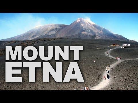Mount Etna, the Tallest Active Volcano in Europe