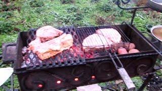 Мясо на углях - The meat on the coals