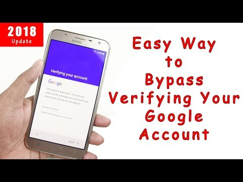 "A New Easy Way To ""Bypass Google Account Verification"" All Most Android Phone 2018"