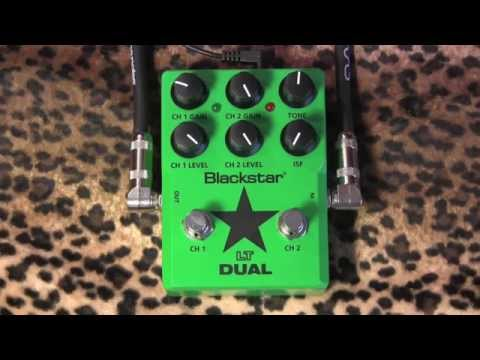 Blackstar LT DUAL 2 Channel Overdrive Demo With Gibson SG