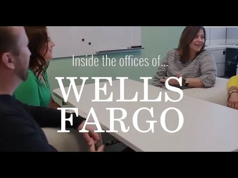 Inside The Offices Of Wells Fargo Youtube