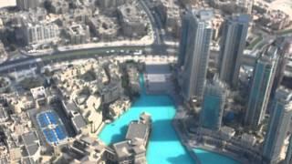 Burç Halife / Burj Khalifa'nın 124. katına çıkıyorum. (Dubai - 13.09.2011)