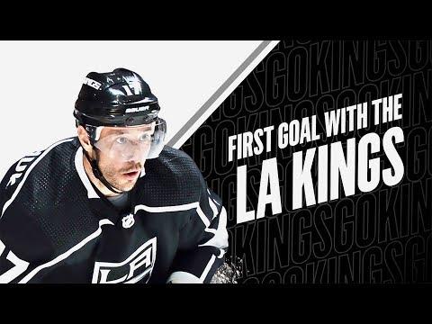 Ilya Kovalchuk Scores His First Goal with the LA Kings